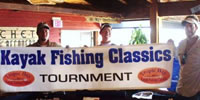 First Kayak Fishing Tournamnt for Tarpon