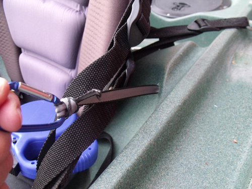 Bob's kayak leash