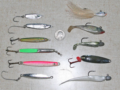albie lure selection