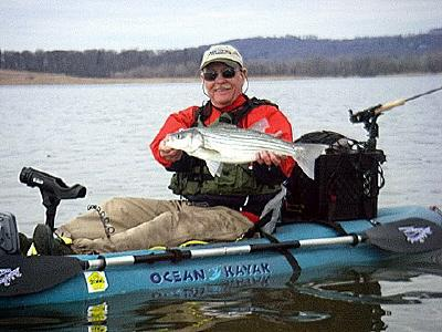 Artie with a Croton March striper