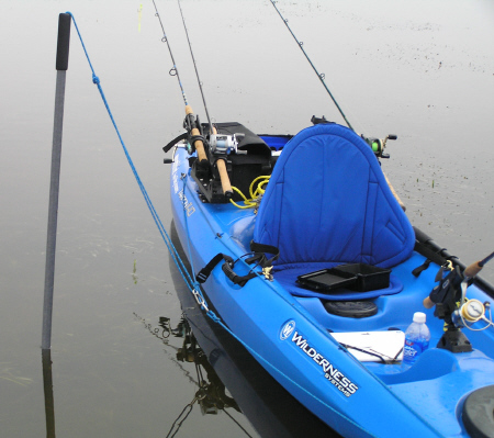 kayak stakeout pole