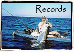Record Kayak Fishing Catches