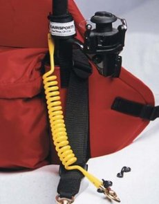 Coiled Fishing Rod/Net Leash by Seairsports