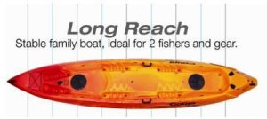 Cobra Kayaks Tandem Long Reach