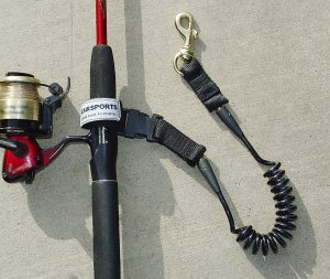 Seairsports Coiled Rod Leash