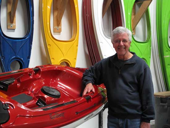 tom derrer of eddyline kayaks