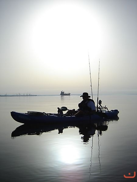 Portugal kayak fishing