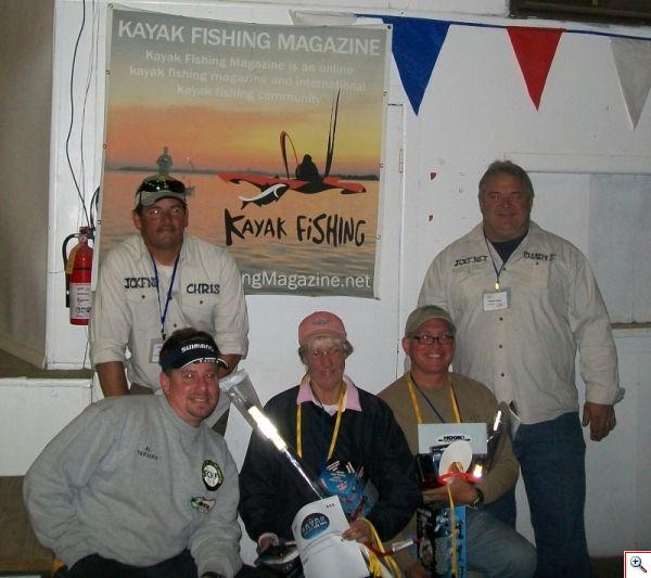 eckfs kayak fishing series with kfm banner
