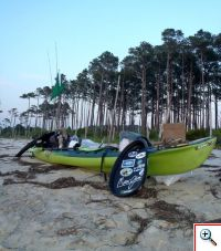 606_best_beach_on_eshore kayak kevin fishing DVD