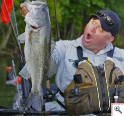 Kayak Bassin' with Chad Hoover