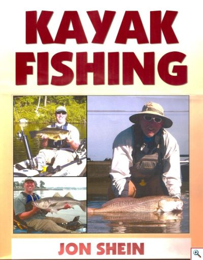 Kayak Fishing Book by Jon Shein