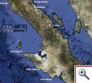 Baja map El Rosario to Santa Rosalia