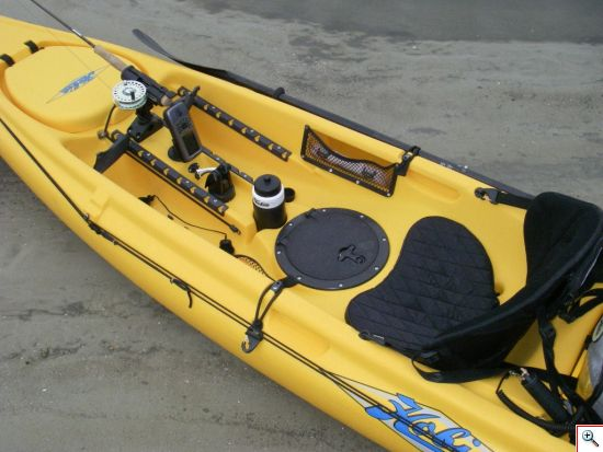 Rigged Fishing Kayak