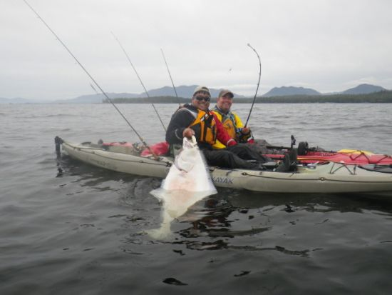 alaska kayak fishing trip
