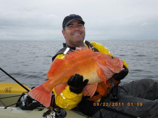 alaska kayak fishing trip