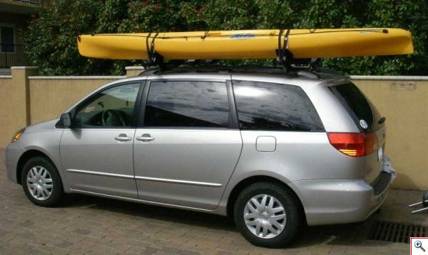 Kayak in place