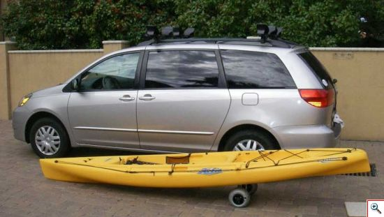 Kayak On Cart