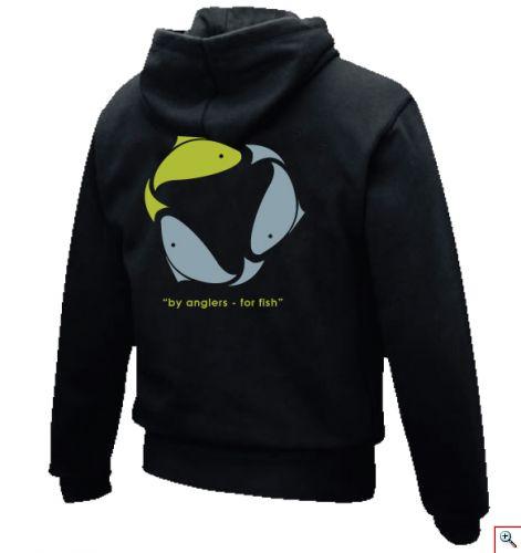 Greenfish classic hoodie in black