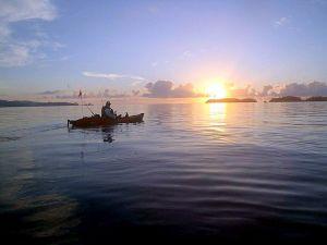 kawau island practice paddle7
