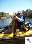 Notice how dard this snook is - pic by DC