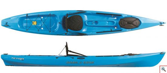 Ocean Kayak Tetra Series Fishing Kayaks