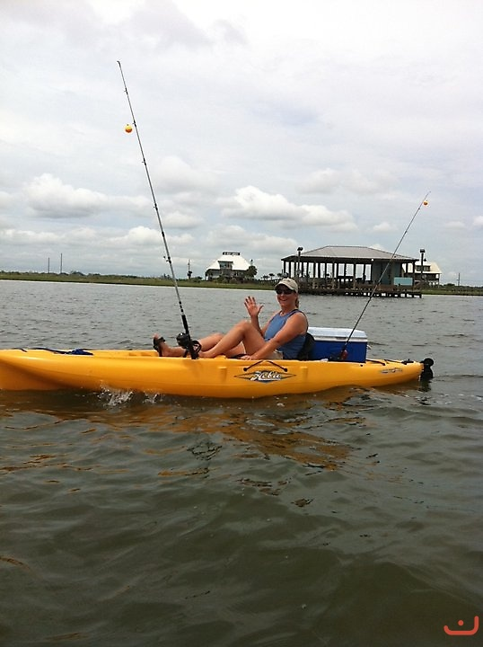 kayak Fishing Calcasieu Lake, Lake Charles, LA_2