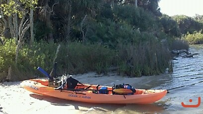 Ocean Kayak Rigged and Ready_1